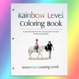 Rainbow Level Coloring Book cover