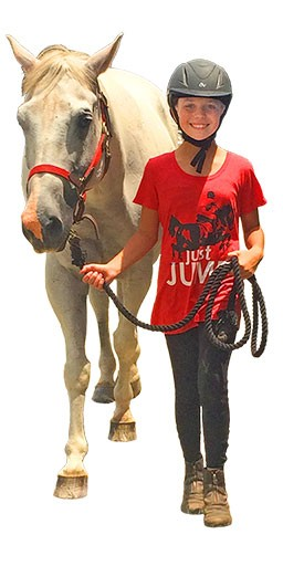 HorseSense Red Level student leading horse