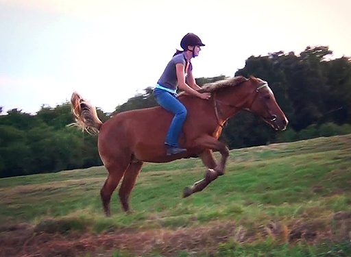 Heaven has way too much bareback -in-the-pasture fun