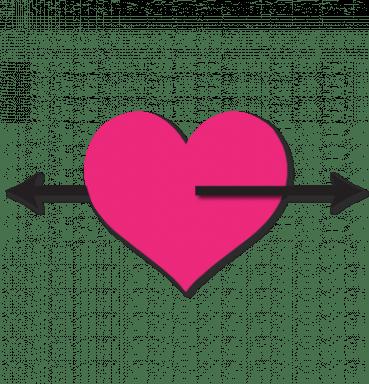 #stayathomechallenge - heart with bidirectional arrows